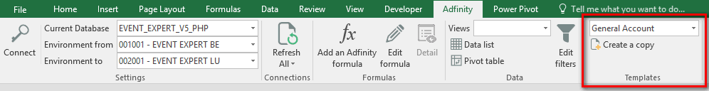 excel template accounting adfinity