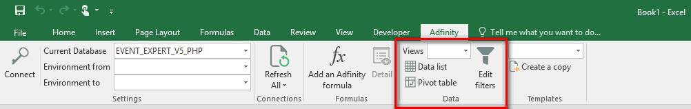 excel views template accounting Adfinity