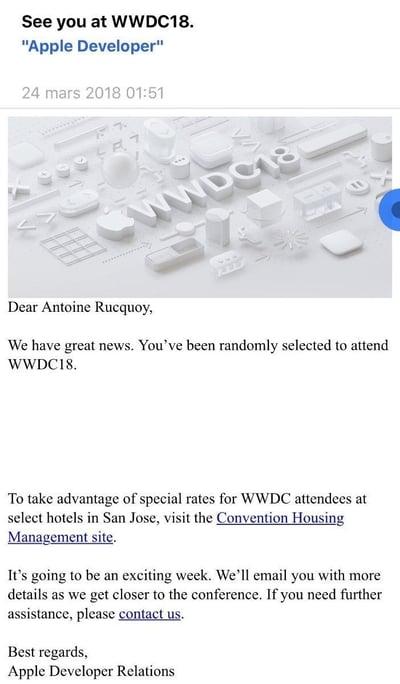 WWDC18mail