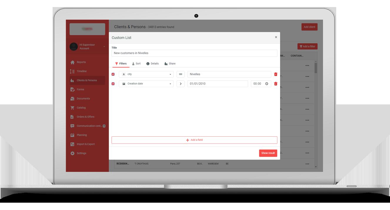 Ontdek Custom Lists: de nieuwste functionaliteit van SmartSales