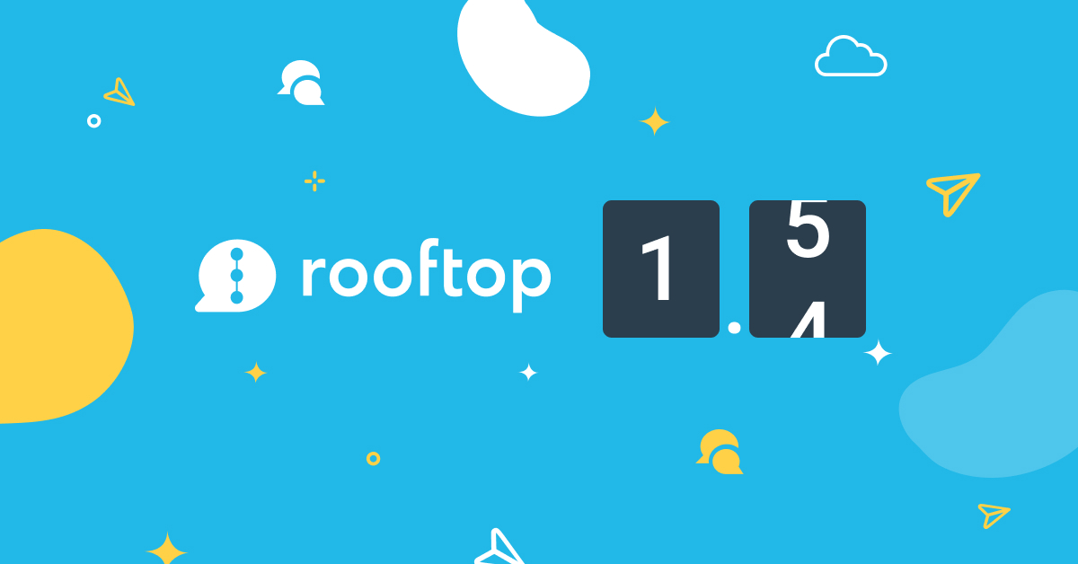 Rooftop version 1.5