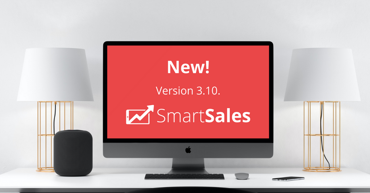 SmartSales v3.10: here's what's new