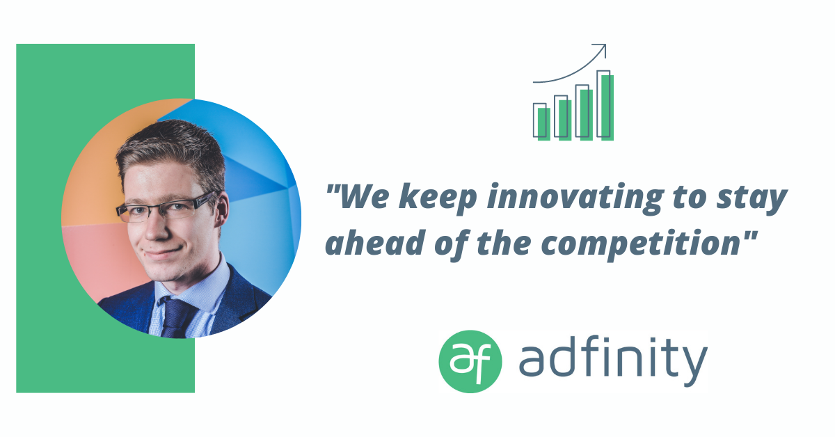 Adfinity's growth in Flanders