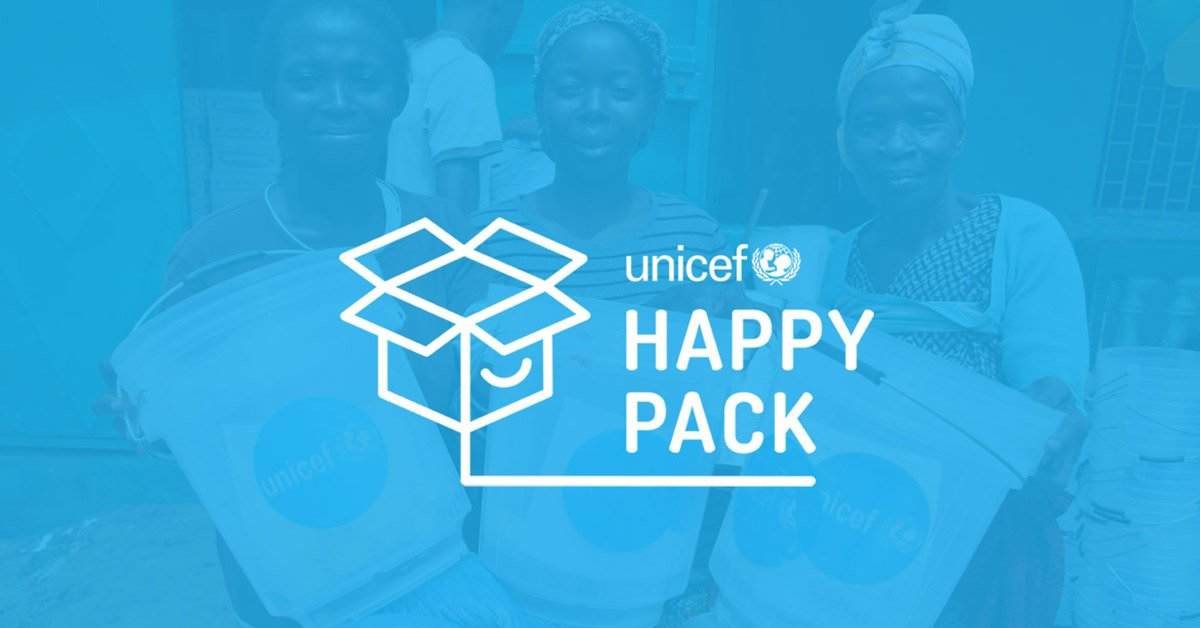 Happy packs for children in need