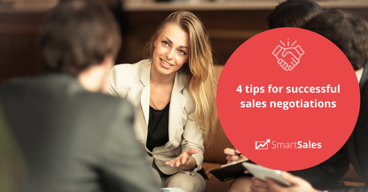 4 tips for successful sales negotiations