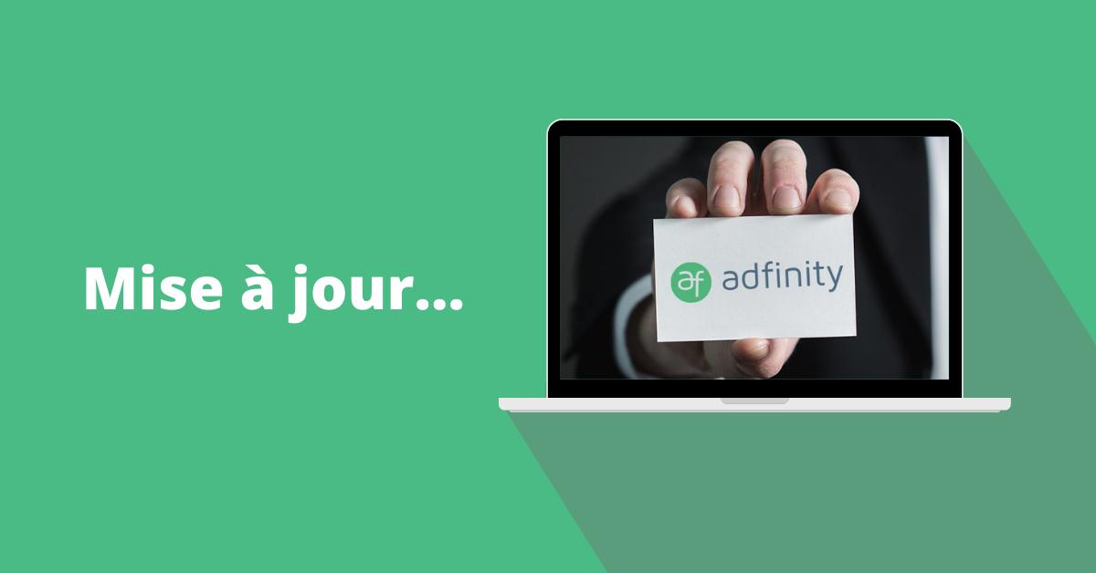 Souhaitez la bienvenue à Adfinity v1.7 !