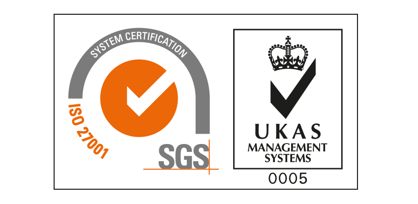EASI is ISO 27001 certified